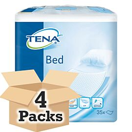 "TENA Bed Normal 24"" x 36"" CASE SAVER (4 x Pack of 35)"