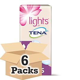 Lights by TENA Liners CASE SAVER (6 x Pack of 24)