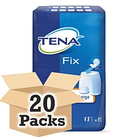 TENA Fix Premium Fixation Pants - XX Large  CASE SAVER (20 x Pack of 5)