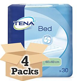 TENA Bed Single Bed Pads Case Saver (4 x Pack of 30)