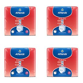 Attends Pull-Ons 10 XL - Pack 14 - Case of 4