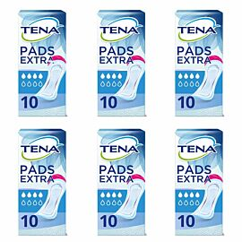 TENA Lady Extra CASE SAVER (6 x Pack of 10)