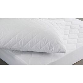 Polycotton Quilted Mattress Protector KING
