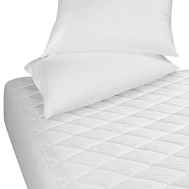 Waterproof Mattress Protector Quilted 4Ft Polycotton