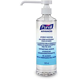 Purell Advanced Alcohol Hand Sanitiser 500ml (Tall Pump Bottle) - EACH
