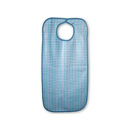 Primacare Reusable Large Bib | Gingham | 45x92cm