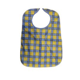 Primacare Reusable Bib | Yellow & Blue | 45x60cm