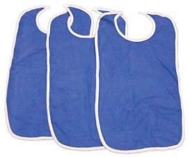 Primacare Re-Usable Bib Blue with Velcro | 45x92Cm | Large