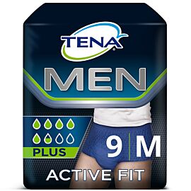 TENA Men Active Fit Pants | Medium | Pack of 9