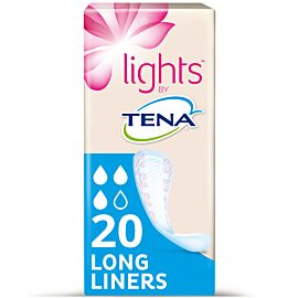 Lights by TENA Long Liners | Pack of 20