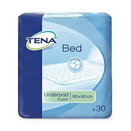 TENA Bed Super | 60x60cm | Pack of 30