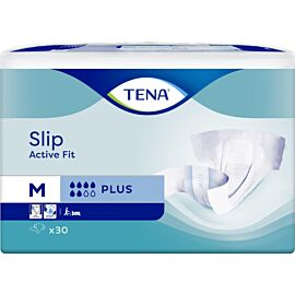 TENA Slip Active Fit Plus | Medium | Pack of 30
