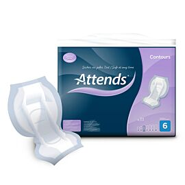 Attends Contours Regular Pad 6 | Pack of 35