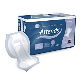 Attends Contours Regular Pad 10 | Pack of 21