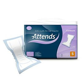 Attends Contours Regular Pad 5 | Pack of 42