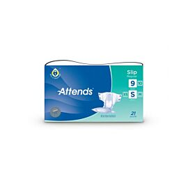 Attends Slip Regular 9 Small | Pack of 21