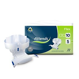 Attends Flex 10 Small | Pack of 22