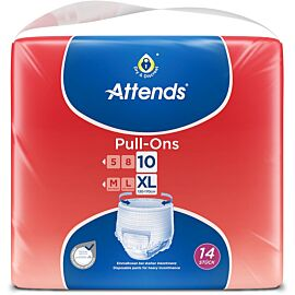 Attends Pull Ons 10 Extra Large | Pack of 14