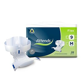 Attends Flex 9 Medium | Pack of 26