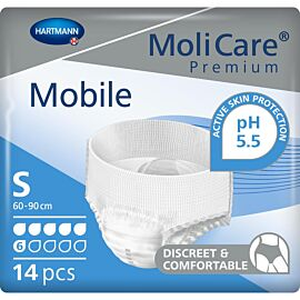 MoliCare Premium Mobile 6 Drop | Small | Pack of 14