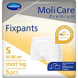 MoliCare Premium Fixpants Short Leg | Small | Pack of 5