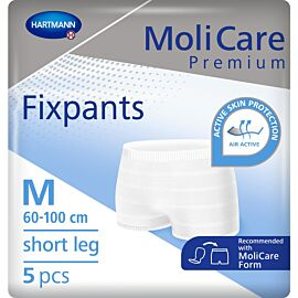 MoliCare Premium Fixpants Short Leg | Medium | Pack of 5