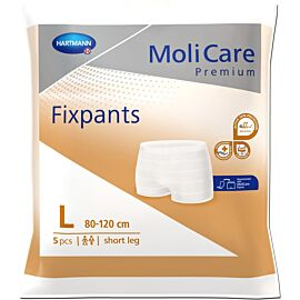 MoliCare Premium Fixpants Short Leg | Large | Pack of 5