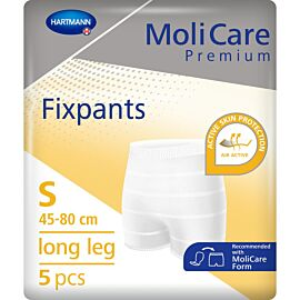 MoliCare Premium Fixpants Long Leg | Small | Pack of 5
