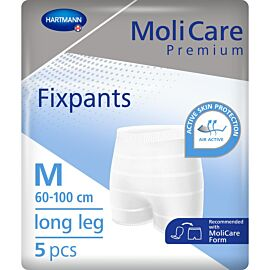 MoliCare Premium Fixpants Long Leg | Medium | Pack of 5