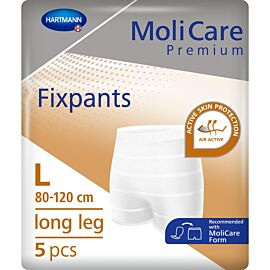 MoliCare Premium Fixpants Long Leg | Large | Pack of 5
