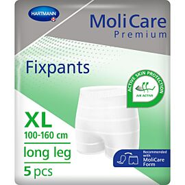 MoliCare Premium Fixpants Long Leg | XLarge | Pack of 5