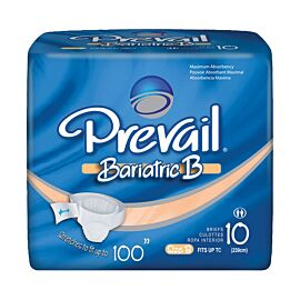 "Prevail Bariatric Brief B 100"" waist 