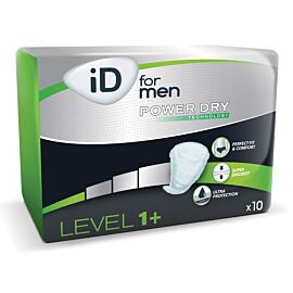 iD For Men Level 1+ | Pack of 10