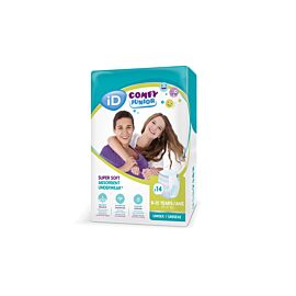 iD Comfy Junior Pants 8-15 years | 24-47kg | Pack of 14