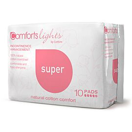 Cottons Comfort Super Pads - 100% made of cotton in Australia