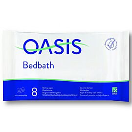 Oasis Bed Bath Wipes Scented   Pack of 1