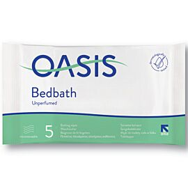 Oasis Bed Bath Wipes Unscented | Pack of 1