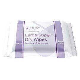 PrimaCare Super Dry Wipe | 32x30cm | Pack of 100