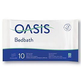 Oasis Bed Bath Wipes Scented | Pack of 1