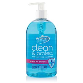 Astonish Clean and Protect Antibacterial Hand Wash | 500ml