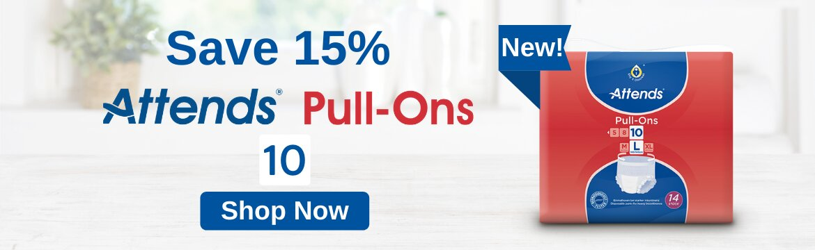 Save 15% on Attends Pull-Ons 10