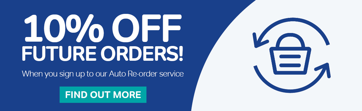 Save 10% With Auto Reorder