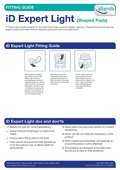 iD Expert Light fitting guide